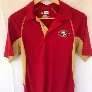 NFL 49er Shirt Men's S (Women's M/L) Fan Shop
